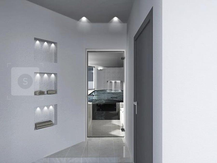 wellnessbereich im einfamilienhaus architekturb ro k ln architektin aknw lubov schopow. Black Bedroom Furniture Sets. Home Design Ideas