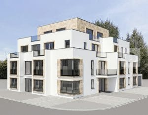 Mehrfamilienhaus Planung Visualisierung, Wesseling · Architekt / Architekturbüro Schopow Köln Bonn, AKNW