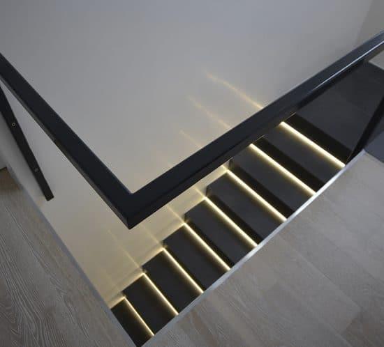 Treppenaufgang · Architektenhaus Köln Rondorf, Umbau, Innenausbau und Interior-Design Einfamilienhaus im Ortskern