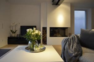 Wohnraum · Architektenhaus Köln Rondorf, Umbau, Innenausbau und Interior-Design Einfamilienhaus im Ortskern