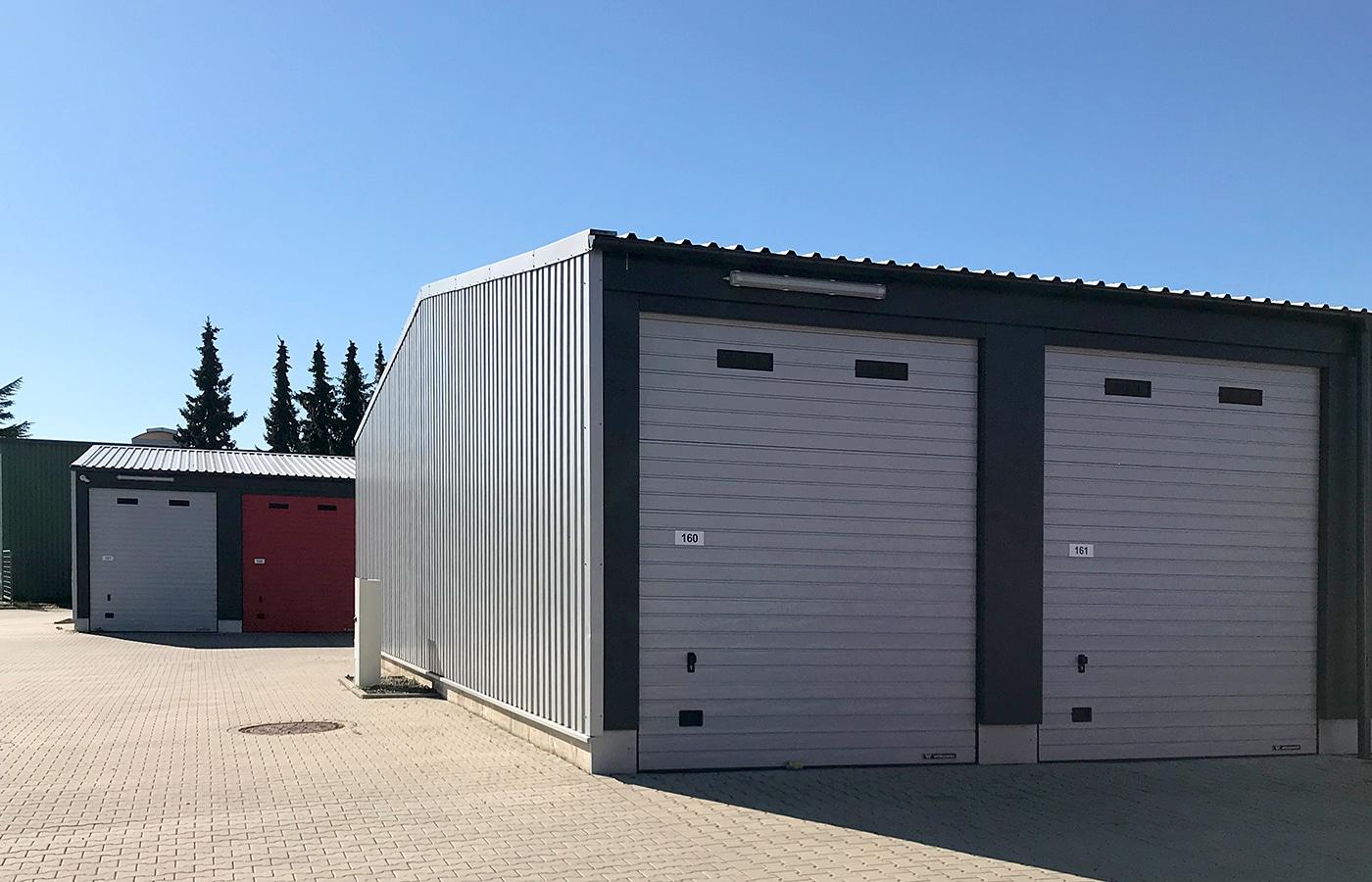 Einzelbox Garagenpark Storage Köln Rodenkirchen · Architektin AKNW Dipl.-Ing. Lubov · Architekt / Architekturbüro Köln