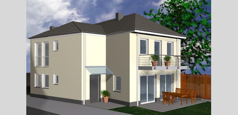 Architekturb ro k ln architektin aknw lubov schopow for Architekt einfamilienhaus