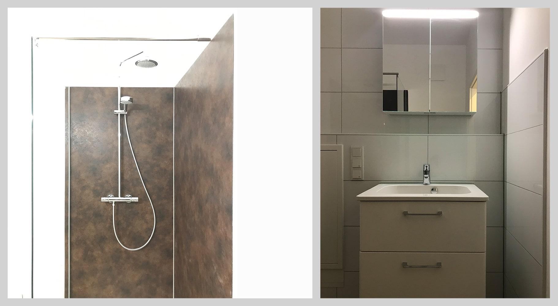 Baddesign Sanierung Modernisierung Immobiie · Architekt / Architekturbüro Schopow Köln Bonn, AKNW