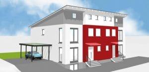 Doppelhaushälfte DHH Brühl von Architekt / Architekturbüro Köln Dipl.-Ing. Lubov Schopow