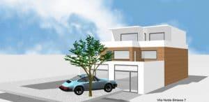 Architektenhaus Wohnhaus EFH Lohmar von Architekt / Architekturbüro Köln Dipl.-Ing. Lubov Schopow