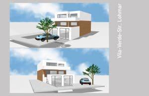 Visualisierung Moderne Villa Entwurf · Architekt / Architekturbüro Schopow Köln Bonn, AKNW