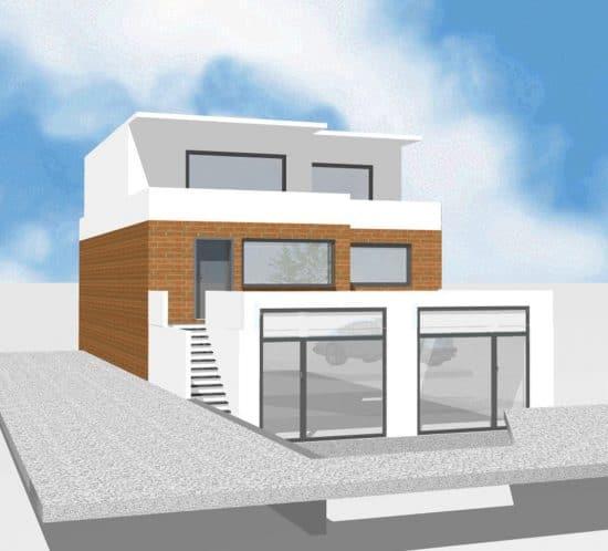 Einfamilienhaus Moderne Villa Ausbau · Architekt / Architekturbüro Schopow Köln Bonn, AKNW