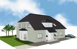 EFH Einfamilienhaus Niedrigenergie Kerpen von Architekt / Architekturbüro Köln Dipl.-Ing. Lubov Schopow