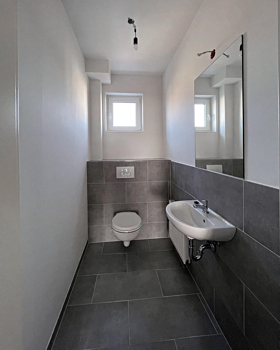 Bad 04, Architekturbüro Köln, Immobilie: Aufstockung + Innenausbau Mehrfamilienhaus