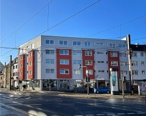 Objekt-Ansicht 01, Köln, Immobilie: Aufstockung + Innenausbau Mehrfamilienhaus von Architekturbüro Schopow