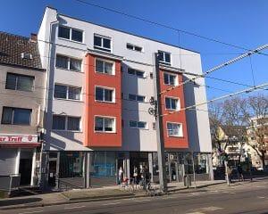 Objekt-Ansicht 02, Köln, Immobilie: Aufstockung + Innenausbau Mehrfamilienhaus, Architekturbüro
