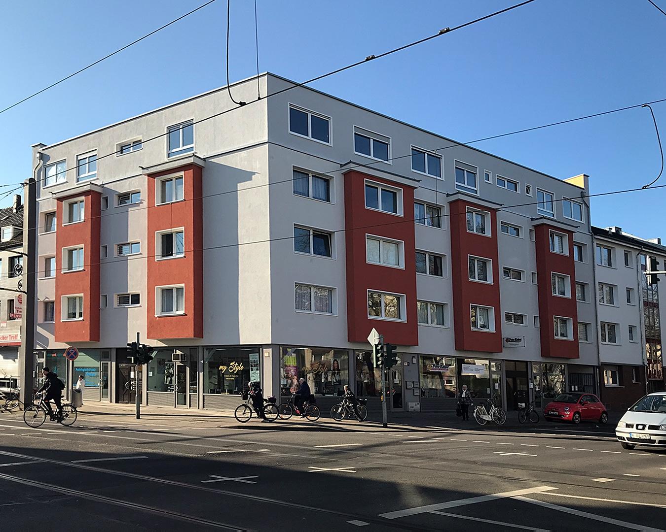 Objekt-Ansicht 03, Köln, Immobilie: Aufstockung + Innenausbau Mehrfamilienhaus, Architekturbüro
