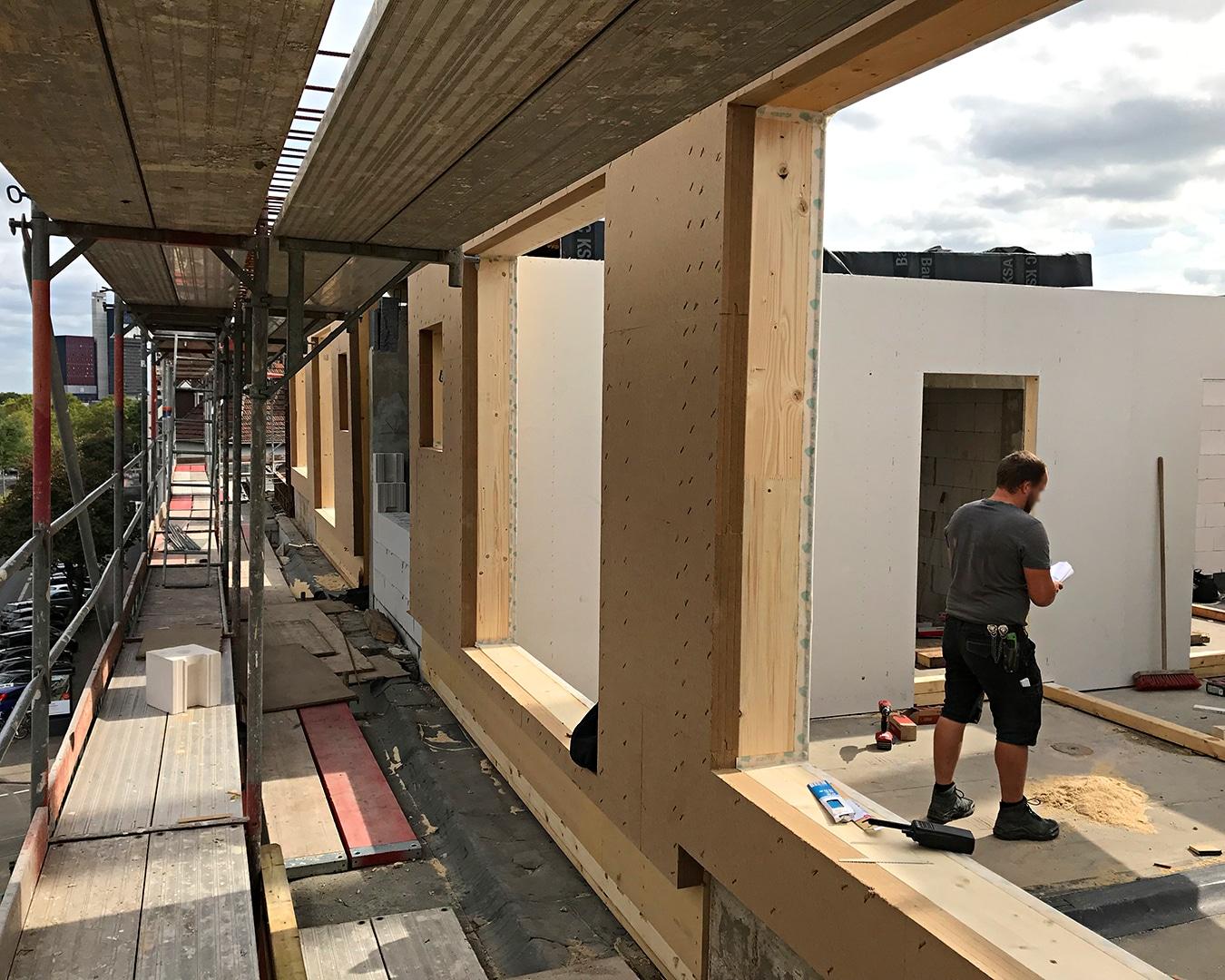 03, Architekturbüro Köln, Immobilie: Aufstockung + Innenausbau Mehrfamilienhaus