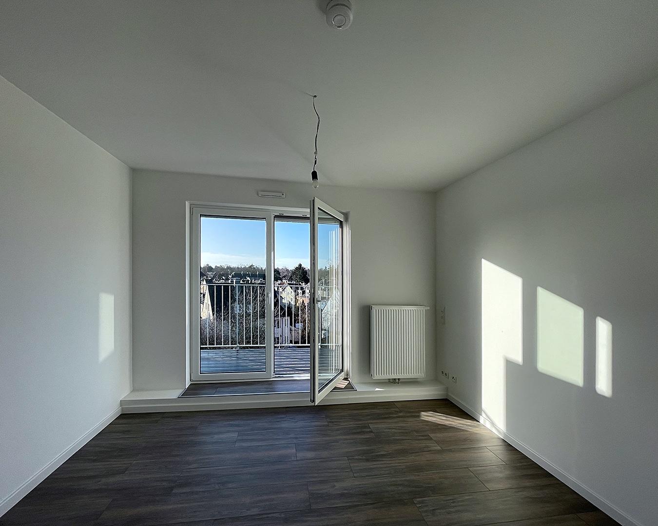 Zimmer 02, Architekturbüro Köln, Immobilie: Aufstockung + Innenausbau Mehrfamilienhaus