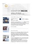 Newsletter Schopow Inside · Architektin AKNW Dipl.-Ing. Lubov · Architekt / Architekturbüro Köln